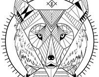 Totem geometrico