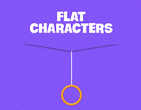 #FlatcharactersVol1