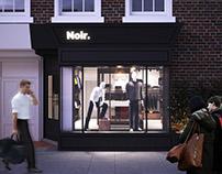 Noir. Fashion store