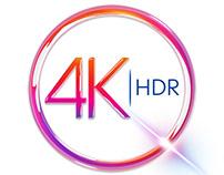 Sky - 4K HDR - Logo concept