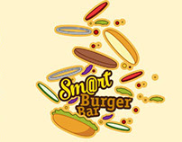 Smart Burger Bar Logo Concept #1