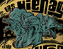 Las hienas - Illustration
