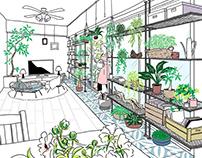 Works | Web - Geo Hankyu Minase Heart Square 2020