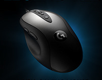 Logitech MX518 Gaming Mouse Animation