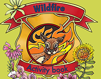 Bokkie's Wildfire Activity book, 2016