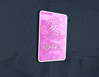Kanji Sticker design for Traveler