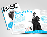 Basic Magazine, Editorial piece.