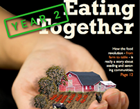 Eating Together - Magazine Front Page And Spread