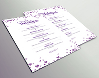 Valentine menu - De Halve Maan