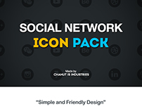 Social Network icons pack by Chanut-is-Industries