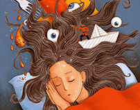 Libido Magazine Cover illustration- Dreams