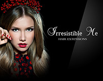 Irresistible Me Hair Extensions | Graphics