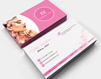 Business Card for Makeup Artist