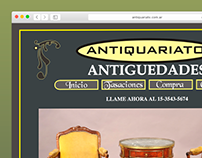 Antiquariato | Diseño Web HTML y CSS