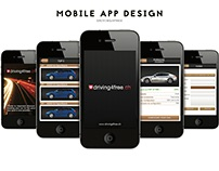 Mobile App Design Cars
