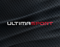 Ultimasport. Logo and pictograms presentation