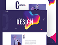 Design One Page Template