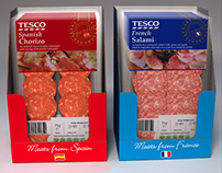 Point of Sale visuals for Tesco