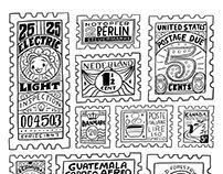 Vintage Stamp Studies