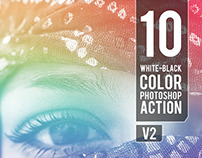 10 WB - Color Photoshop Action V2