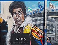 Seinfeld Mural