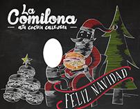 La Comilona Christmas Board