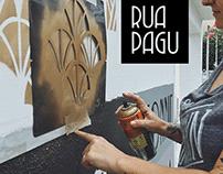 Mural Art & Visual Id for 'Rua Pagu'