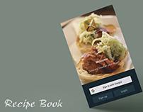 Recipe Book - Mobile Application