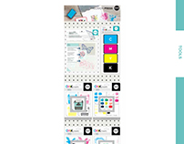 Sales Presentation CMYK Stamps for WeR Memory Keepers