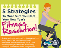 Fitness Resolution Infographic