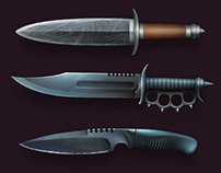 Modern Blade Icons