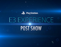 E3 SONY PLAYSTATION OPEN