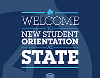 New Student Orientation Banners