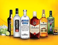 Ativação Destilados Pernod Richards