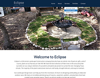 Eclipse Landscape + Construction - site re-Design