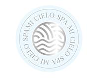 Propuesta de logotipo 1 para el Spa Mi Cielo