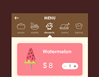 menu page