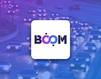 Boom (Taxi Service) - Logo Design