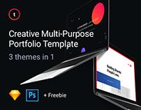 Triple - Creative Multi-purpose Portfolio Web Template