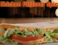 McDonald's Grilled Chicken Foldover Spicy TV ad