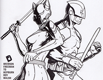 Comic Book Sketch Cover: Captain Canuck