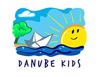 Danube Kids - logo design
