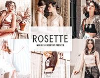Rosette Mobile & Desktop Lightroom Presets
