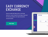 E-wallet & crypto exchanger