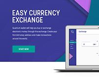 E-wallet & crypto exchanger