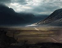 Long Pursuit in the Dust Badlands