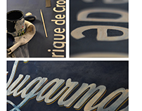 Logo and signage - SUGARMAN