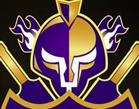 Quetta Gladiator Logo Coverted Into Vector
