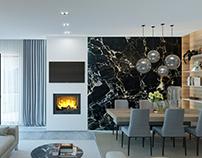 Vila 6_Albania (interior design & 3D render)
