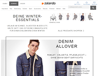 Zalando Trend Shop Men Essentials Fashion Store